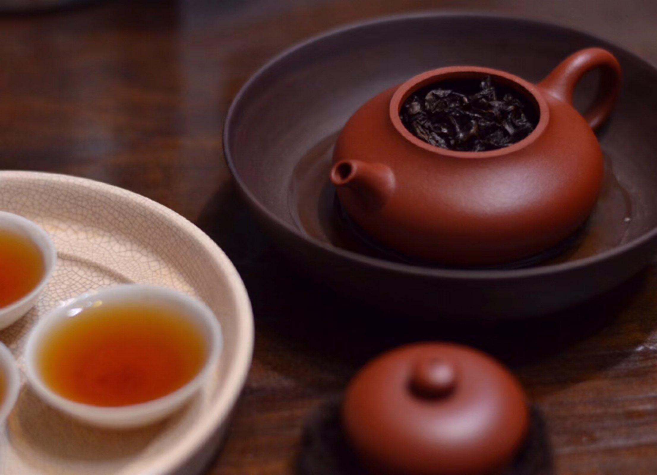 【冝園】朱泥壶绝配乌龙茶