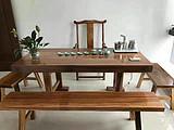 实木茶桌给你的茶室带来别样的风格