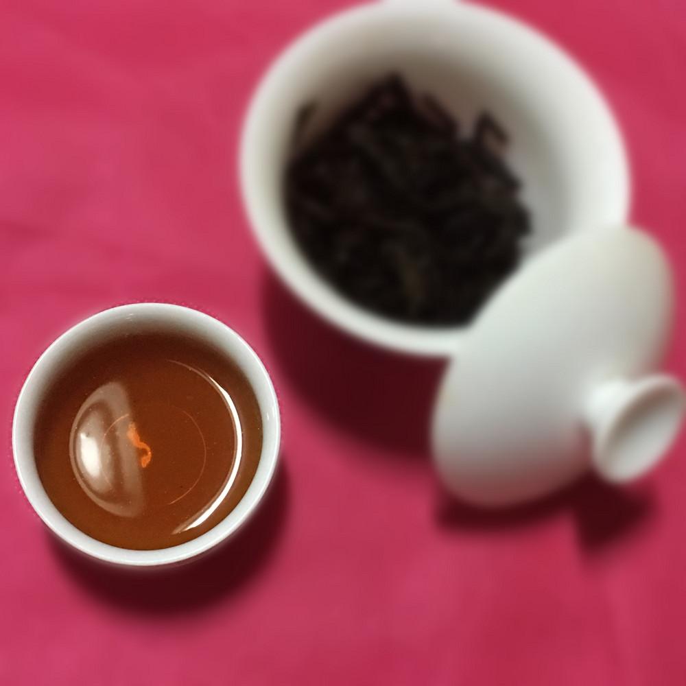【晒茶记】古法六堡茶(2014)[广生祥]