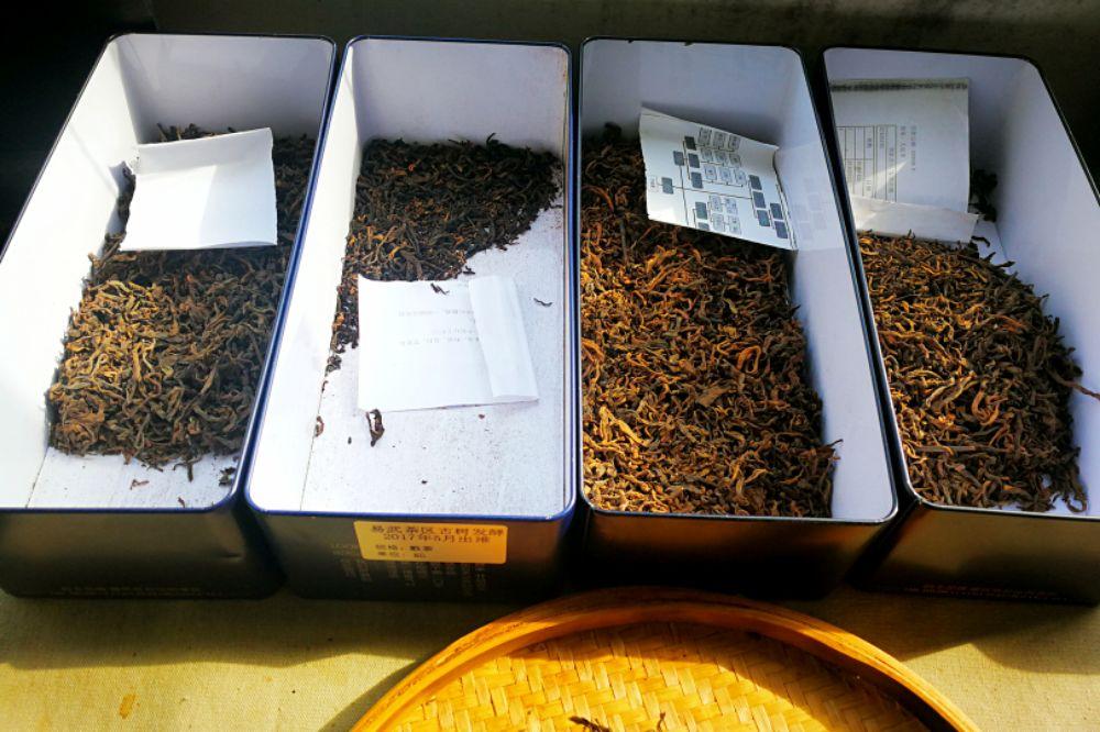 我的制茶观之 古树熟茶只是纯料拼配