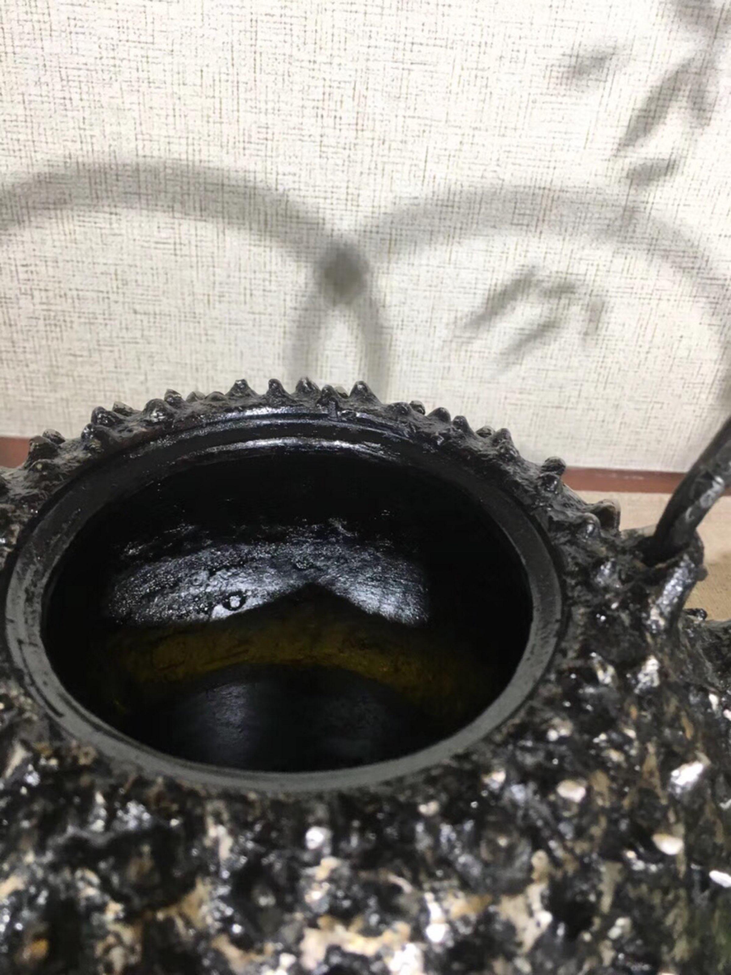 纯手工日本铁壶