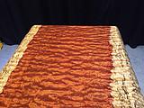 巴花实木大板茶桌极品水波纹