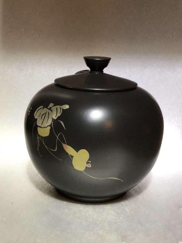 建水紫陶茶叶罐