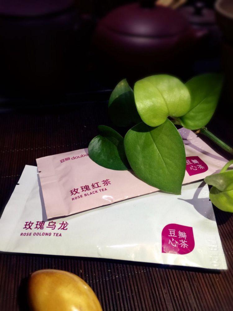 【品鉴官·豆瓣心茶】茶与花的完美结合
