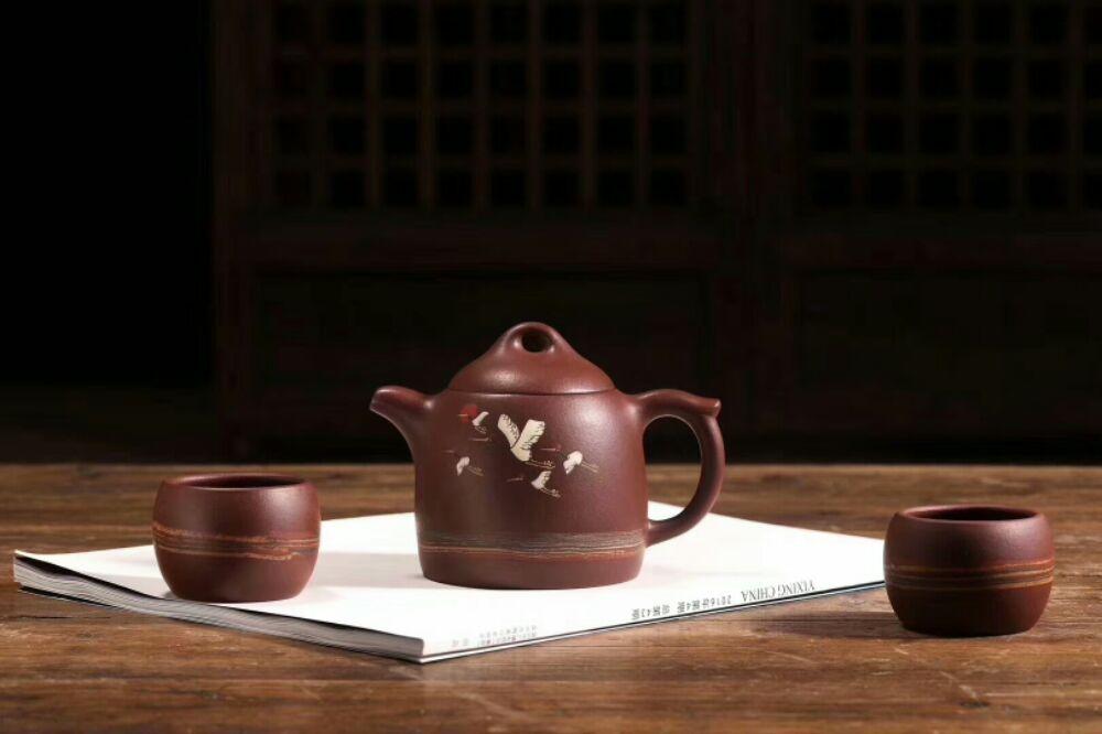 紫砂壶泡茶很不错