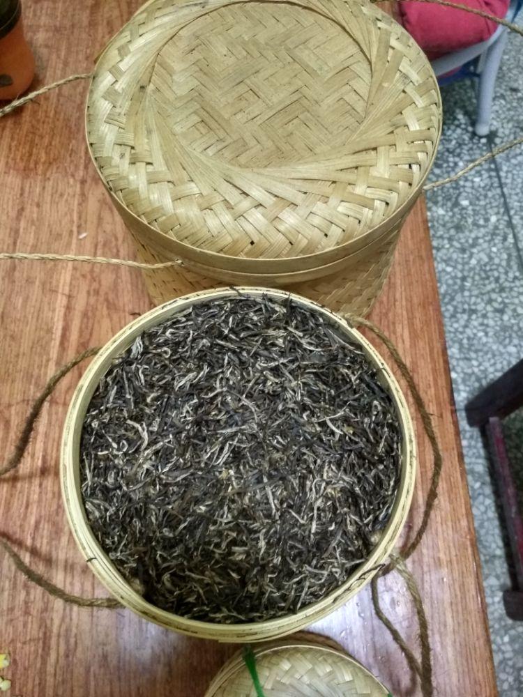 安化黑茶,特级天尖,黑针