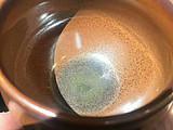 龙窑柴烧--柿红蛋杯盏
