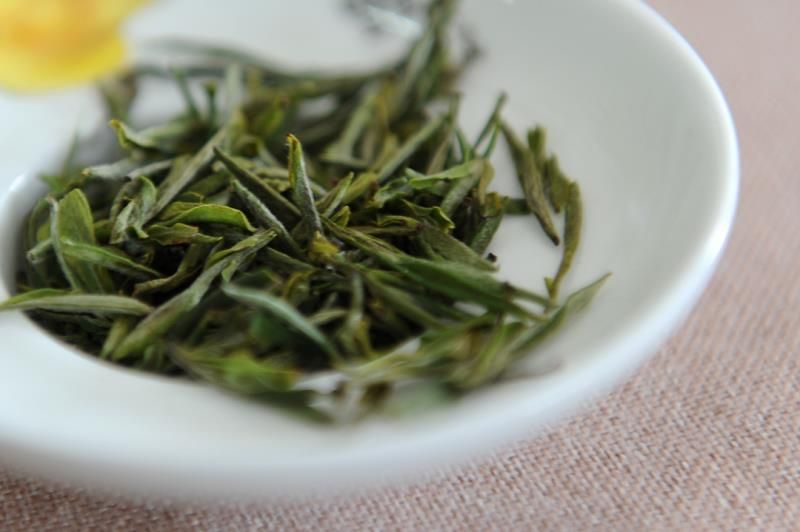 为什么喝黄山毛峰友青草味?