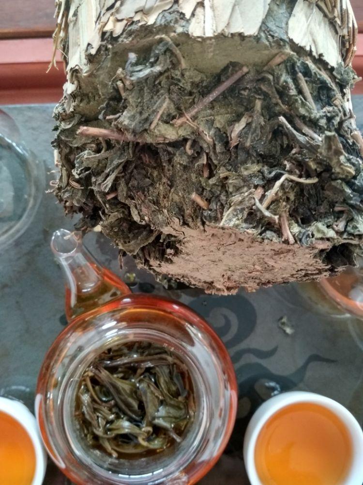 安化黑茶,百两茶