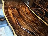 原生态胡桃木实木大板挖好的大茶海漂亮