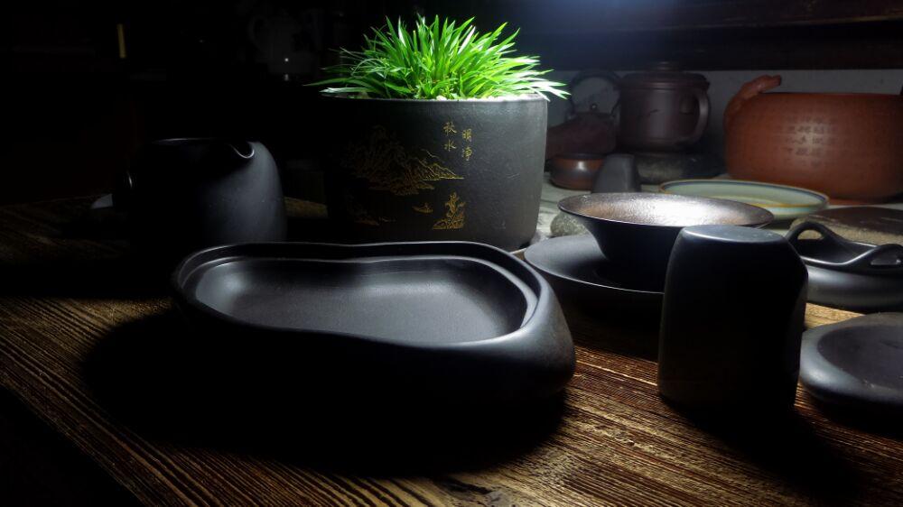 紫袍石茶器