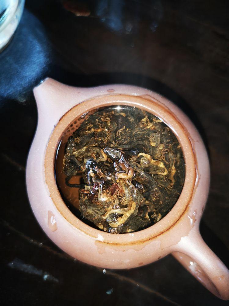 竹筒茶(老茶)