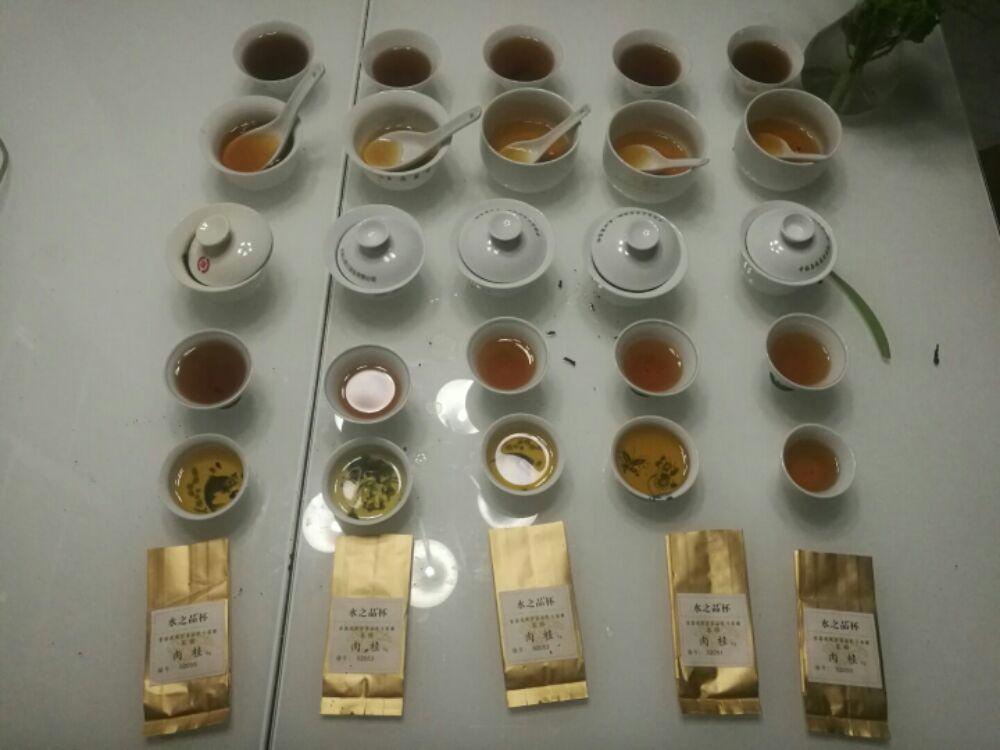 水之品岩茶品鉴