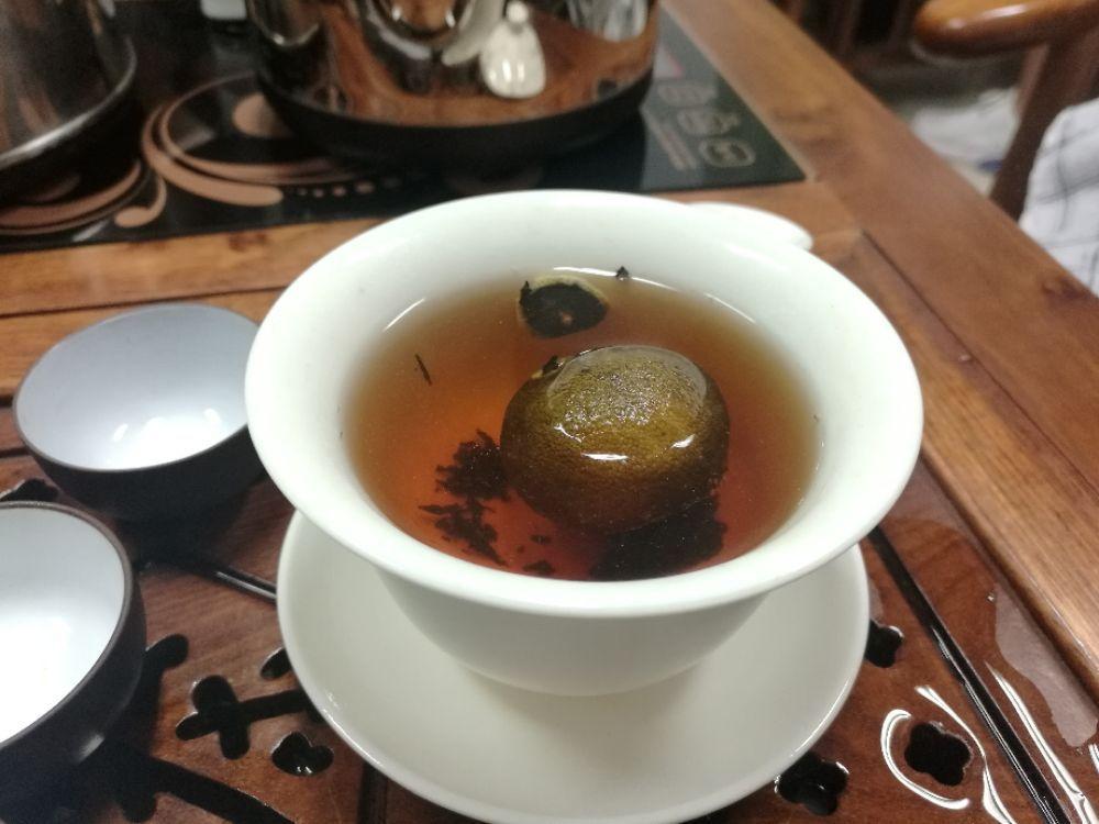 中国茶艺--新会小青柑