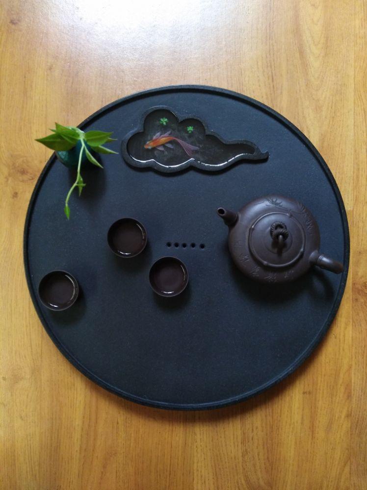 乌金石创意茶盘的研发