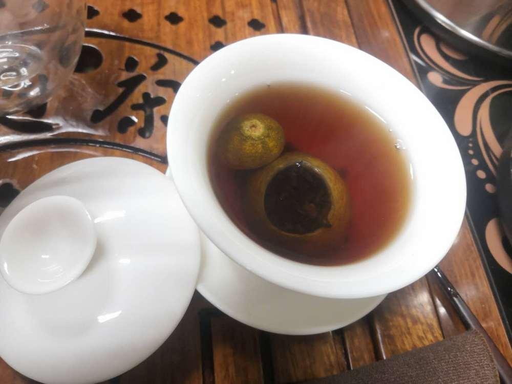 中国茶艺公选课——从前未识小青柑