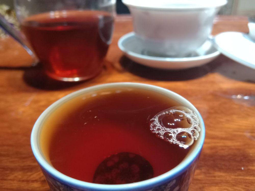 夜茶,熟茶砖