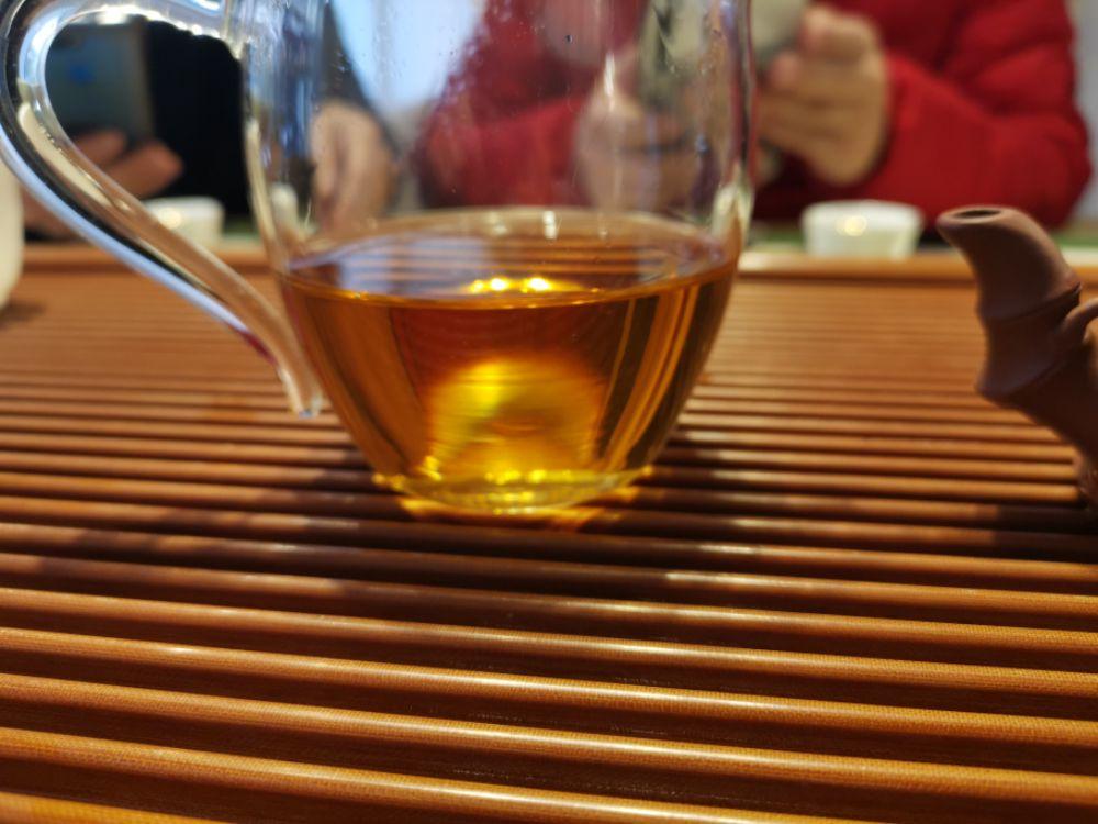 冷天喝点老茶,2005易昌号珍品