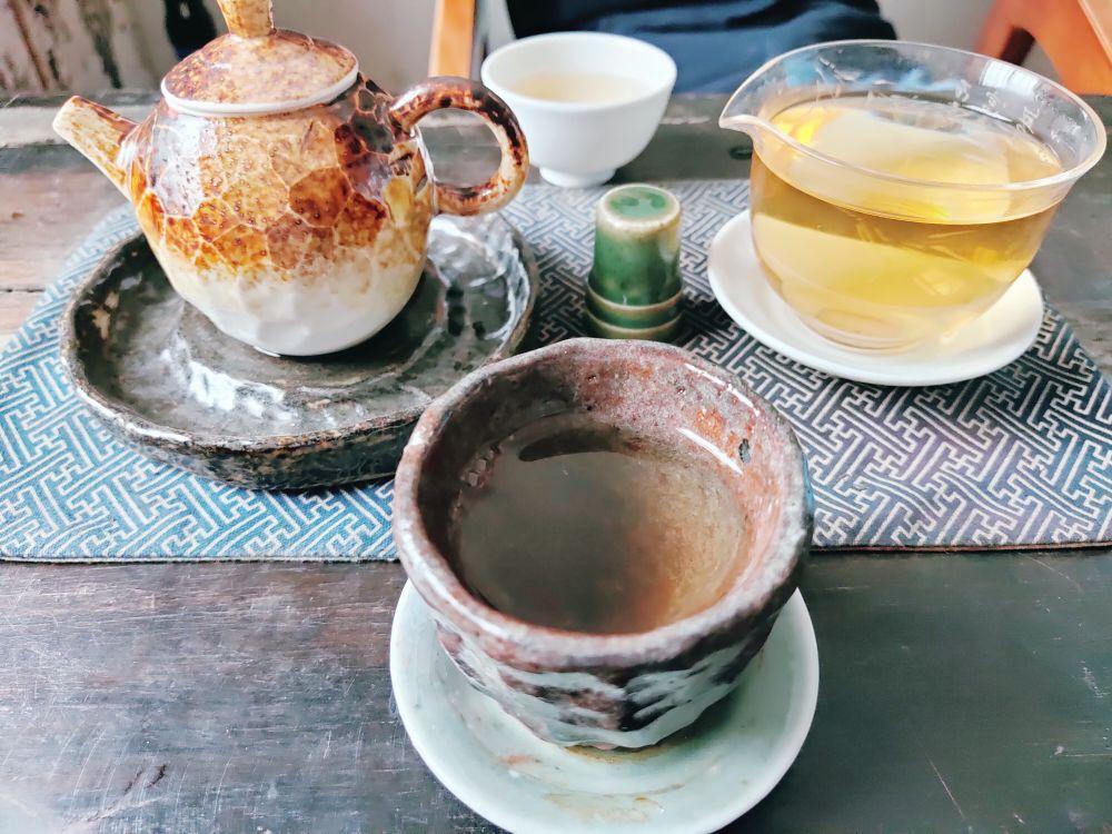谈谈昨天拜访客户的感想,上茶!!!