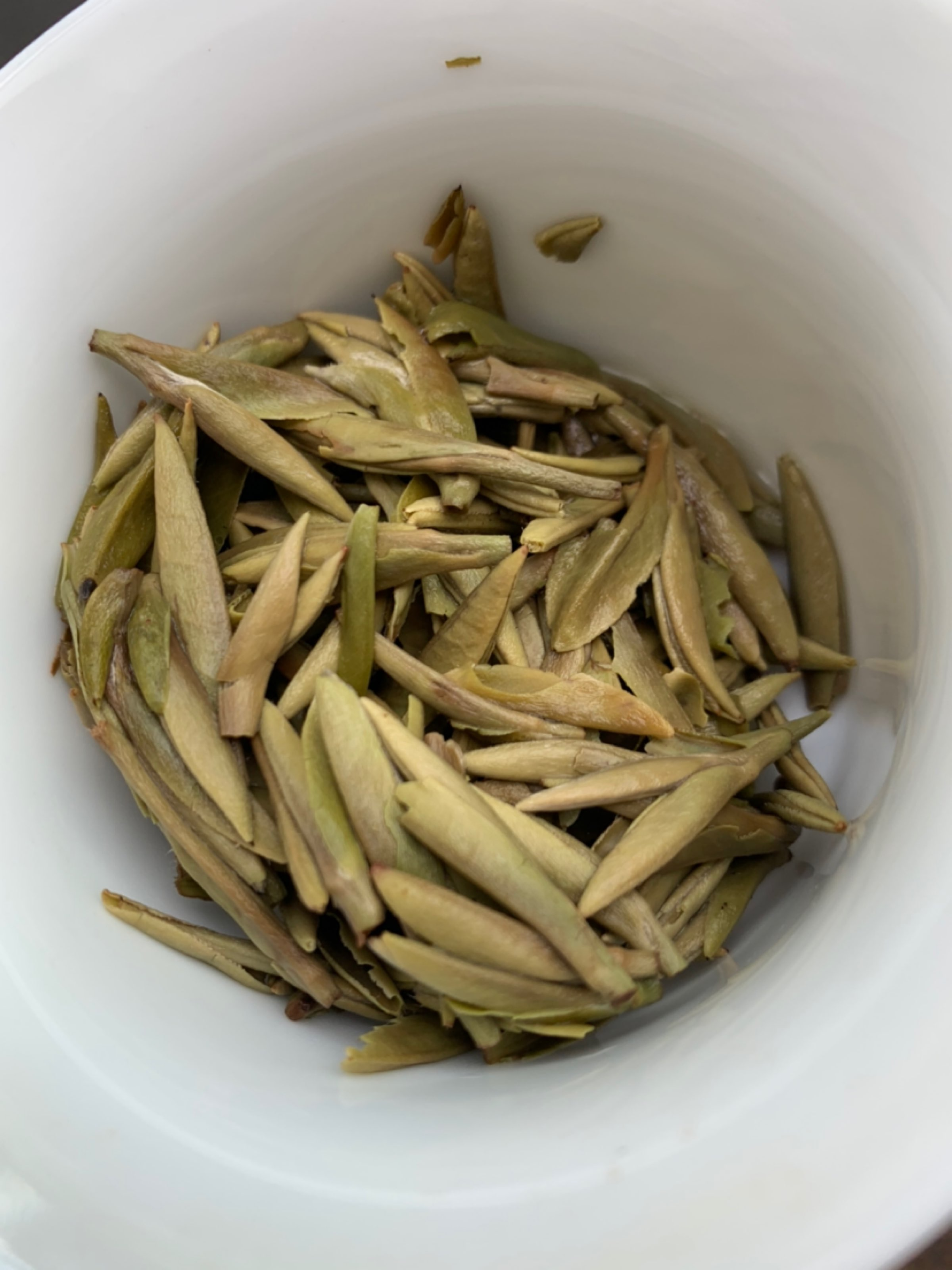 日晒白茶,磻溪银针开头汤