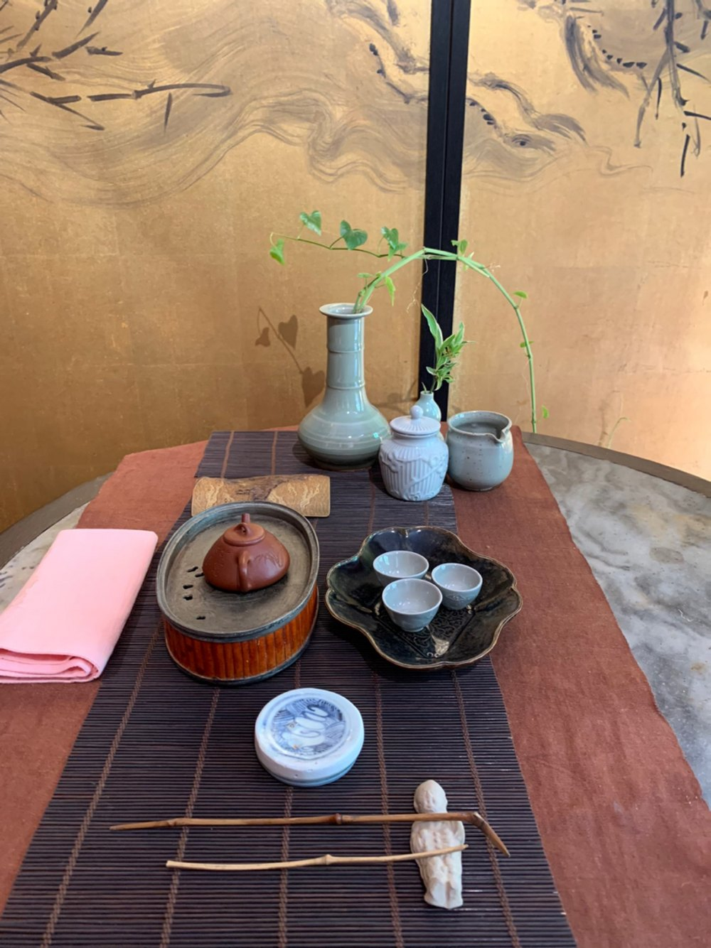 刚参加完深圳的茶博会
